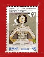 (1Us) )  SPAGNA °- 1995 - Conferenza Delle Donne Pechino. Unif. 2974. - 1931-Oggi: 2. Rep. - ... Juan Carlos I