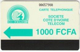 IVORY COAST A-007 Magnetic Telecom - Used - Ivoorkust