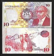 LESOTHO  10  1990г UNC - Lesotho