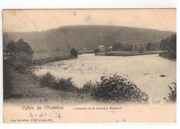 Stoumont  Vallée De L'Amblève   L'Amblève Et La Lienne à Stoumont 1912 - Stoumont