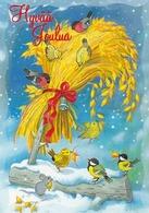 Bird - Birds - Oiseau - Vogel - Uccello - Pássaro - Bullfinches - Great Tits In Winter Landscape - Christmas
