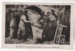+3068,  Feldpost, Unterstände Bei Avricourt - War 1914-18