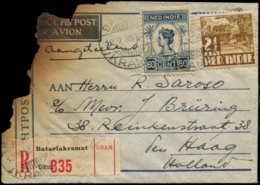 "INDE NEERLANDAISE Poste  - 17/7/35, Accident D'avion ""Maraboe KLM"", De La Ligne Bandoeng/Amsterdam, Courrier En Partie B - Netherlands Indies"