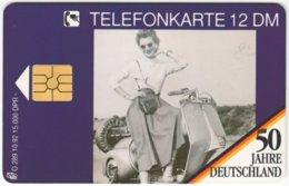 GERMANY O-Serie B-306 - 289 10.92 - Anniversary, 50 Years Germany - Used - O-Series: Kundenserie Vom Sammlerservice Ausgeschlossen