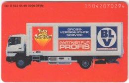 GERMANY O-Serie B-331 - 822 05.95 - Traffic, Truck - Used - Germania