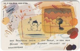 GERMANY O-Serie B-352 - 309 03.95 - Cartoon - Used - Germania