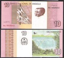 ANGOLA   10     2012 UNC - Angola