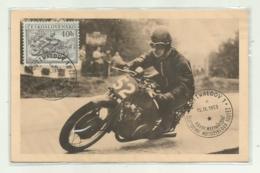 MOTOCICLISMO - SESTIDENNI MOTOCYKLOVA SOUTEZ XXVIII MEZINARODNI GOTTWALDOV 1953 FP - Motociclismo