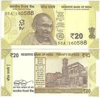 India - 20 Rupees 2019 R UNC Lemberg-Zp - India