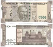 India - 500 Rupees 2019 R UNC Lemberg-Zp - India