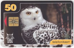 ESTONIA A-245 Chip EestiTelefon - Animal, Bird, Owl - Used - Estland