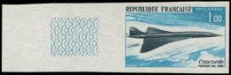 FRANCE Poste Aérienne ** - 43a, Non Dentelé: Concorde - Cote: 200 - Airmail