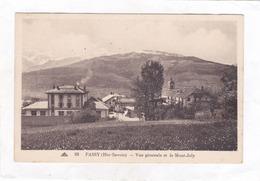 CPA.  14 X 9  -  93  -  PASSY  -  Vue  Générale Et Le Mont-Joly - Passy