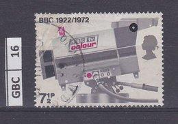 GRANBRETAGNA     1972Anniversario BBC 7,5 P Usato - 1952-.... (Elisabetta II)