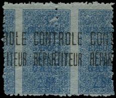 ALGERIE Colis Postaux ** - 7, En Paire, Piquage à Cheval - Parcel Post