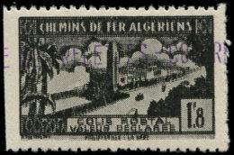 ALGERIE Colis Postaux ** - 84a, Double Impression, Dentelé 3 Côtés (Maury) - Cote: 110 - Algerien (1924-1962)