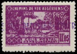ALGERIE Colis Postaux ** - 93, Double Impression, Signé Brun (Maury) - Cote: 90 - Parcel Post