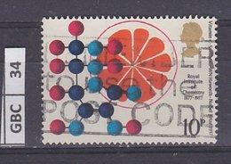GRANBRETAGNA     1977Istituto Reale Di Chimica 10 P Usato - 1952-.... (Elisabetta II)