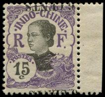 INDOCHINE Poste * - 77a, Surcharge Renversée à Cheval: 6c. S. 15c. - Indochina (1889-1945)