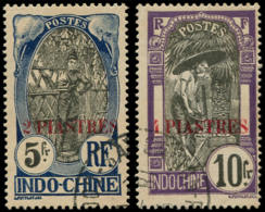 INDOCHINE Poste O - 88/89, 5f. Et  10f. - Cote: 270 - Gebraucht
