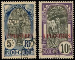 INDOCHINE Poste O - 88/89, 5f. Et  10f. - Cote: 270 - Indochina (1889-1945)