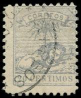 MAROC - POSTES LOCALES Poste O - 137, 20c. Bleu Lion - Cote: 110 - Marokko (1891-1956)