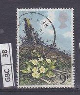GRANBRETAGNA     1979Fiori Selvatici 9 P Usato - 1952-.... (Elisabetta II)