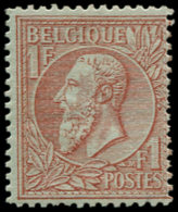 BELGIQUE Poste * - 51, Centrage Courant: 1f. Rouge Et Brun S. Vert - Cote: 1100 - Belgien