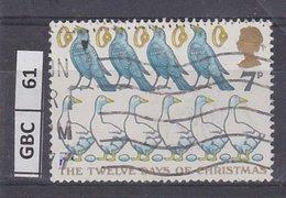 GRANBRETAGNA     1977Natale Quattro Corvi Usato - 1952-.... (Elisabetta II)