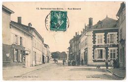 SERMAIZE Les BAINS  51 La Rue Benard Animée  En 1909 - Sermaize-les-Bains