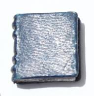 Superbe Pin's MINI LIVRE RELIE D'environ 20 Pages Vierges - Couverture Simili Cuir Bleu - I582 - Pin's