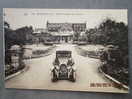 """CPA 62 BERCK PLAGE - Voiture Ancienne """"  Chenard & Walcker T 4 1925 """" Devant L'hôtel Cottage Des Dune - PKW"""