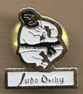 Pin's Dechy (59) Judo Judoka Ceinture Noire - Judo