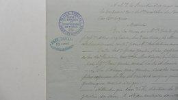 Papier Officiel : Spécial Pour Les Huissiers :Copies D'Exploits  Significations De Pièces - Documents Historiques