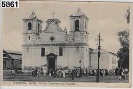 Benguela - Igrejy, Nossa Senhora Do Popolo - With Stamps - Angola