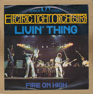 """7"""" Single, Electric Light Orchestra - Livin Thing - Disco, Pop"""