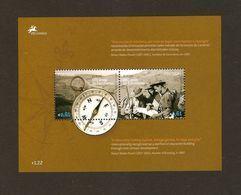 "PORTUGAL - TEMA EUROPA  2007-"" A CENTENARY SCOUT -EUROPA-CEPT""- HOJITA BLOQUE - Europa-CEPT"