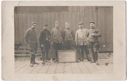 MILITARIA. 14-18. CARTE PHOTO. SERVICE Des TEMPERATURES. SEROTHERAPIE MILITAIRE. Bld RASPAIL à PARIS? A SITUER. - Guerre 1914-18