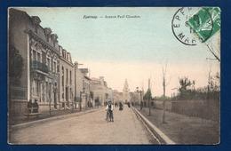 51. Epernay. Avenue Paul Chandon. Magasin A La Ville De Reims. Eglise St.Pierre Et St.Paul.1911 - Epernay