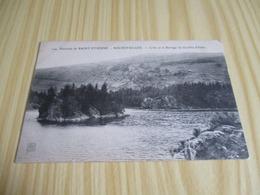 CPA Rochetaillée (42).L'île Et Le Barrage Du Gouffre D'Enfer. - Rochetaillee
