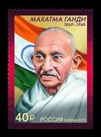 Russia 2019 Mih. 2756 Mahatma Gandhi MNH ** - 1992-.... Föderation