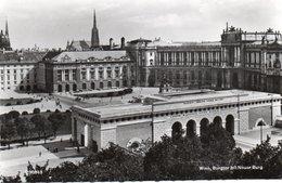 WIEN,BURGTOR MIT NEUER BURG-REAL PHOTO- VIAGGIATA  1956 - Vienna Center