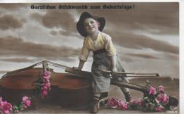 AK 0315  Herzlichen Glückwunsch Zum Geburtstage Um 1914 - Geburtstag