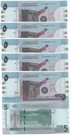 Sudan North - 5 Pcs X 5 Pounds 2015 UNC Lemberg-Zp - Soedan