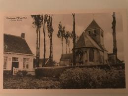 Ettelgem ( Oudenburg) - Oude Kerk - Uitg. Isidoor Van Overberghe - Izegem