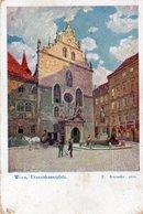 WIEN-FRANZISKANERPLATZ- VIAGGIATA  1930 - Vienna Center