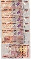 Uganda - 5 Pcs X 1000 Shillings 2010 UNC Pick 49a Lemberg-Zp - Oeganda