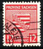 SBZ PROV. SACHSEN Nr 79Xa Gestempelt X6594BE - Sowjetische Zone (SBZ)