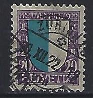 """Switzerland 1922 """"Pro Juventute"""" (o)  Mi.177 - Pro Juventute"""