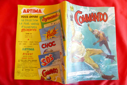 COMMANDO B.D Mensuel N°27  **** BHR 006X - Magazines